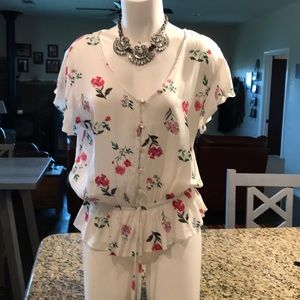 Floral summer top - One Clothing